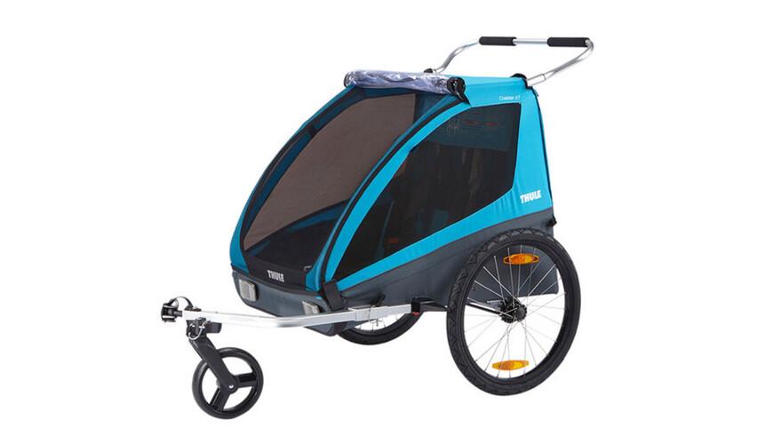 Thule Coaster XT fietsaanhanger blauw/zwart